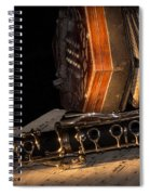 The Clarinet And The Concertina Spiral Notebook