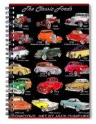 Ford Poster Art Spiral Notebook