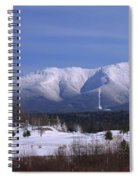 The Classic Mount Washington Hotel Shot Spiral Notebook