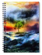 The Clearing Of The Flood Spiral Notebook