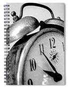 The Clock Spiral Notebook
