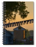 The Clothes Line Spiral Notebook