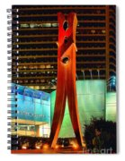 The Clothes Pin Spiral Notebook