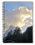 The Cloud Above Spiral Notebook
