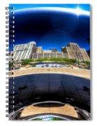 The Cloud Gate Spiral Notebook