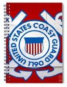 The Coast Guard Shield Spiral Notebook