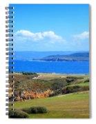 The Coast Of La Coruna Spiral Notebook