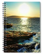 The Coast Of Maine Spiral Notebook