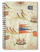 The Coast Of Tunisia And The Gulf Of Gabes, From A Nautical Atlas Of The Mediterranean And Middle Spiral Notebook