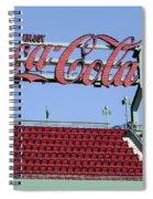 The Coca-cola Corner Spiral Notebook