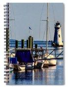 The Cockspur Lighthouse Spiral Notebook