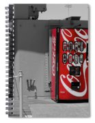 The Coke Machine Spiral Notebook