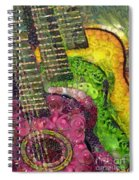 The Color Of Music In The Way Of Arcimboldo Spiral Notebook