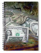 The Color Of The Money Spiral Notebook