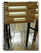 The Color Of Wood Spiral Notebook