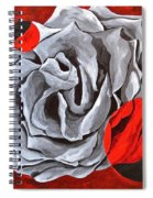 The Color Red Two Spiral Notebook