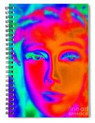 The Colors Of Cassandra Spiral Notebook