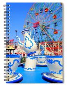 The Colors Of Coney Spiral Notebook