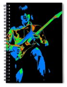 The Colors Of Mick's Music Are Vivid Spiral Notebook