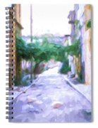 The Colors Of The Streets Spiral Notebook