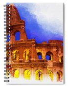 The Colosseum Spiral Notebook