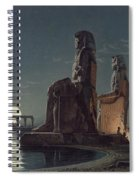 The Colossi Of Memnon, Thebes, One Spiral Notebook
