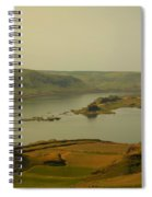 The Columbia River From Maryhill Spiral Notebook
