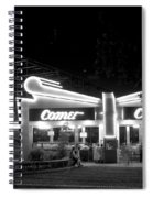 The Comet Roller Coaster - St Louis 1950 Spiral Notebook