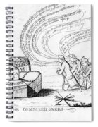 The Commissioners, 1778 Spiral Notebook