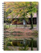 The Commissioners Cabin In Autumn Spiral Notebook
