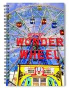 The Coney Island Wonder Wheel Spiral Notebook