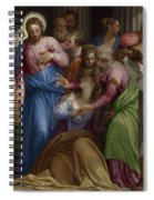 The Conversion Of Mary Magdalene Spiral Notebook