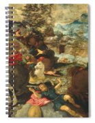 The Conversion Of Saint Paul Spiral Notebook