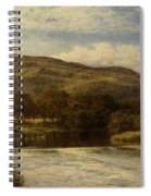 The Conway Near Bettws Y Coed Spiral Notebook