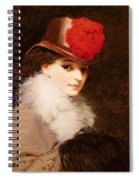 The Coquette, 1863 Spiral Notebook