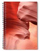 The Corkscrew Slot Spiral Notebook