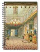 The Corridor Or Long Gallery Spiral Notebook