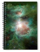 The Cosmic Hearth Spiral Notebook