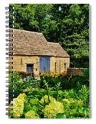 The Cotswald Barn And Dovecove Spiral Notebook