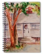 The Cottage In The Highlands Spiral Notebook