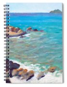 The Cottage View Spiral Notebook