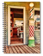 The Country Barber Spiral Notebook
