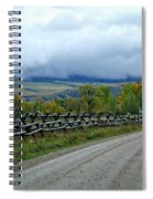 The Country Road Spiral Notebook