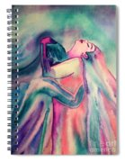 The Couple Image 4 Spiral Notebook
