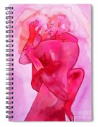 The Couple Image 5 Spiral Notebook
