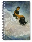 The Couple's First Dance Spiral Notebook