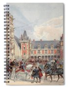 The Court In Chateaus Of The Loire Spiral Notebook
