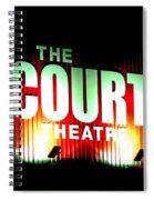 The Court Theatre Spiral Notebook