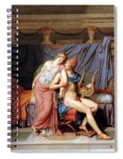 The Courtship Of Paris And Helen Spiral Notebook