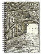 The Covered Bridge Dm  1 Spiral Notebook